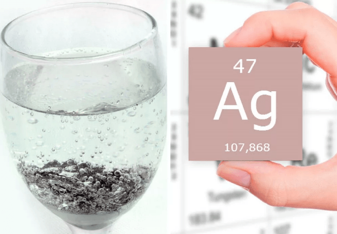 Серебряная вода блокировка